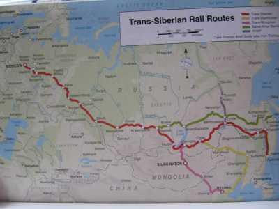 Den Transsibirske Jernbanen